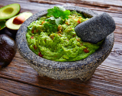 High Protein Cricket Guacamole